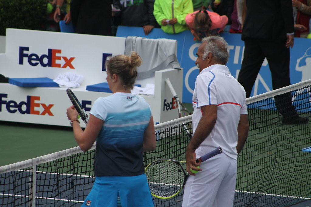 Clijsters and Bahrami