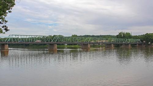 birthday bridge river newjersey pennsylvania anniversary coveredbridge steelbridge newhope delawareriver lambertville tollbridge historicbridge trussbridge steeltrussbridge newhopelambertvillebridge jannagal jannagalski