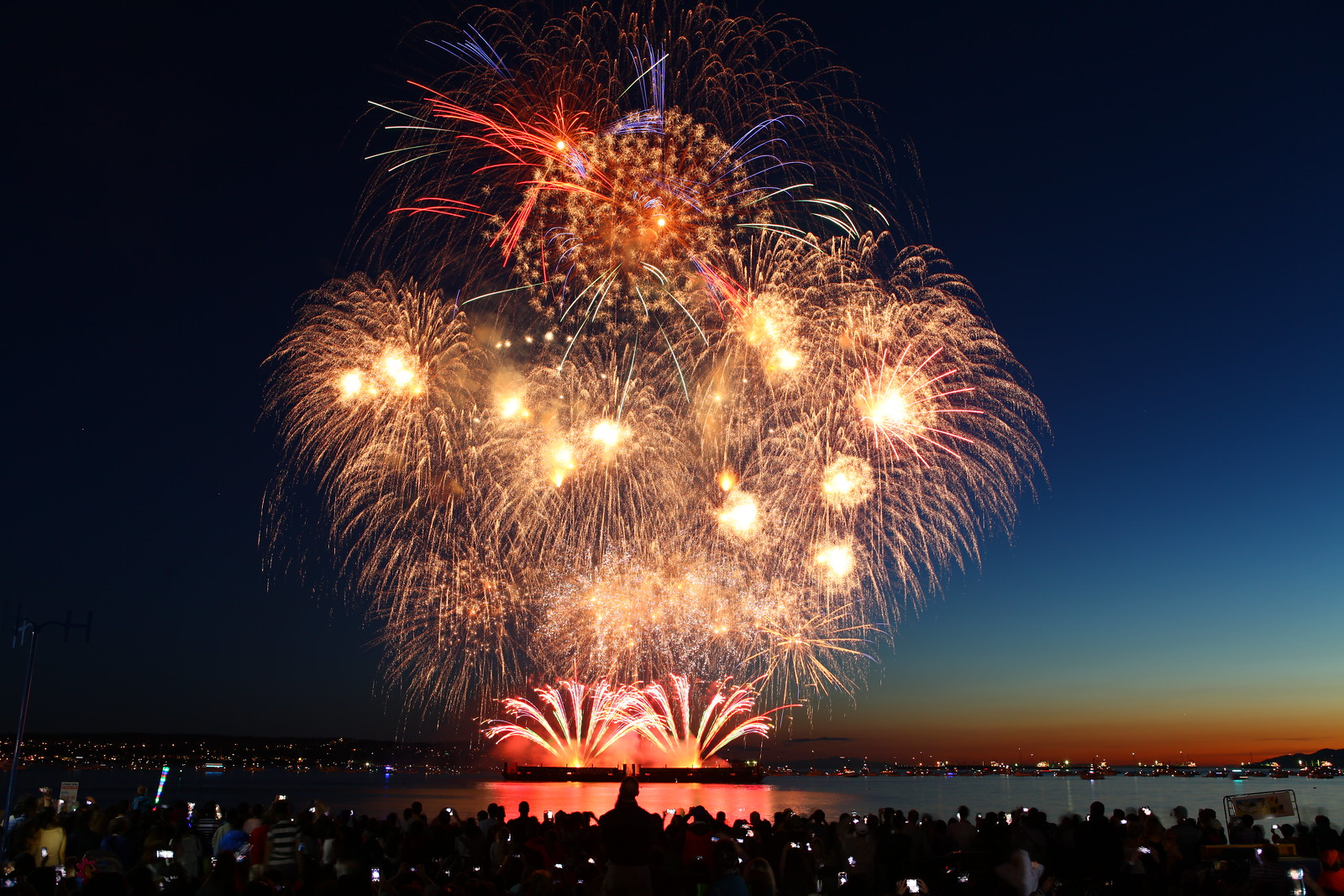 Celebration of Light 2014 - July 26 USA