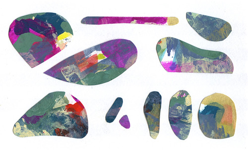 Day 41 ICAD   by Anika Starmer – A is for Anika