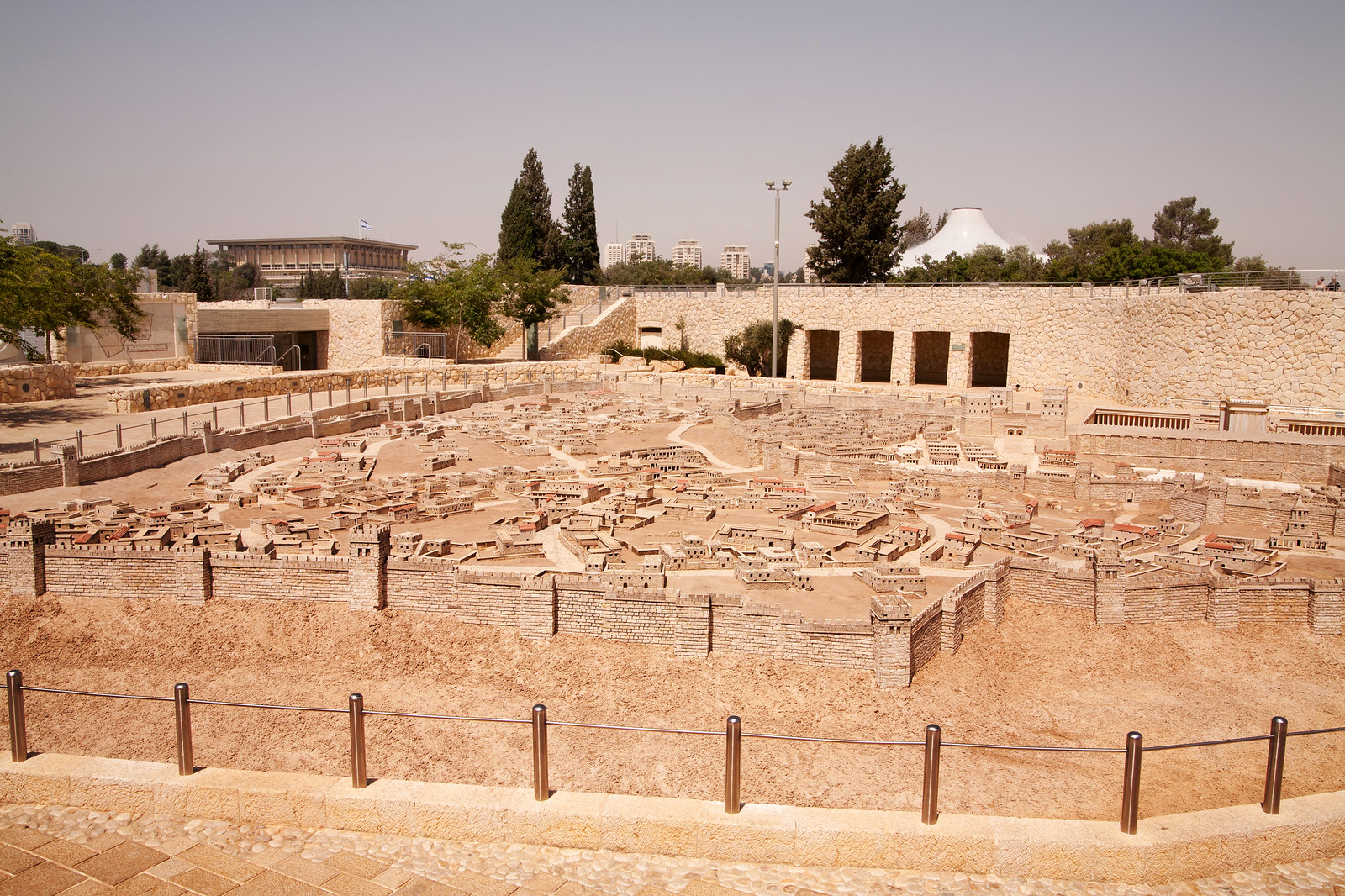 Jerusalem_ The Israel Museum _Model_2nd Temple_2_Noam Chen_IMOT