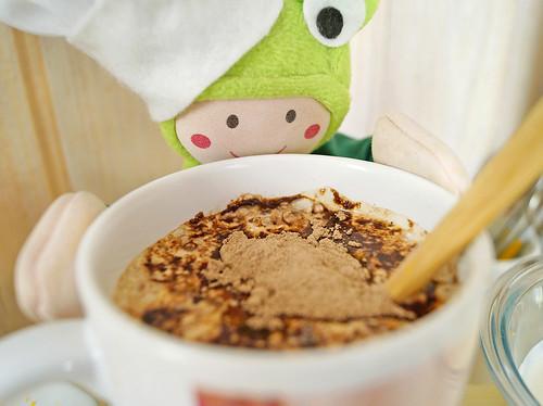 Coloque Na Sua Caneca E Mergulhe Pedaços Do Seu Chocolate