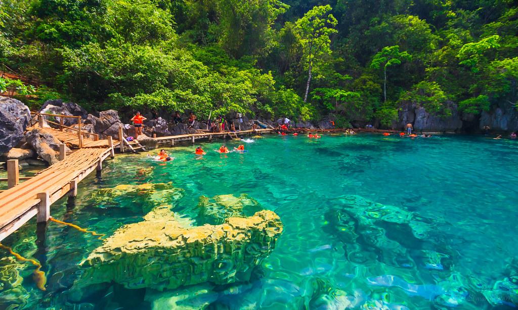 Kayangan Lake In Coron Island Palawan Kayangan Lake Is Co