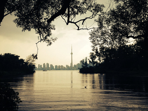 The view from Toronto Island post rain storm. | by D. Brandsma