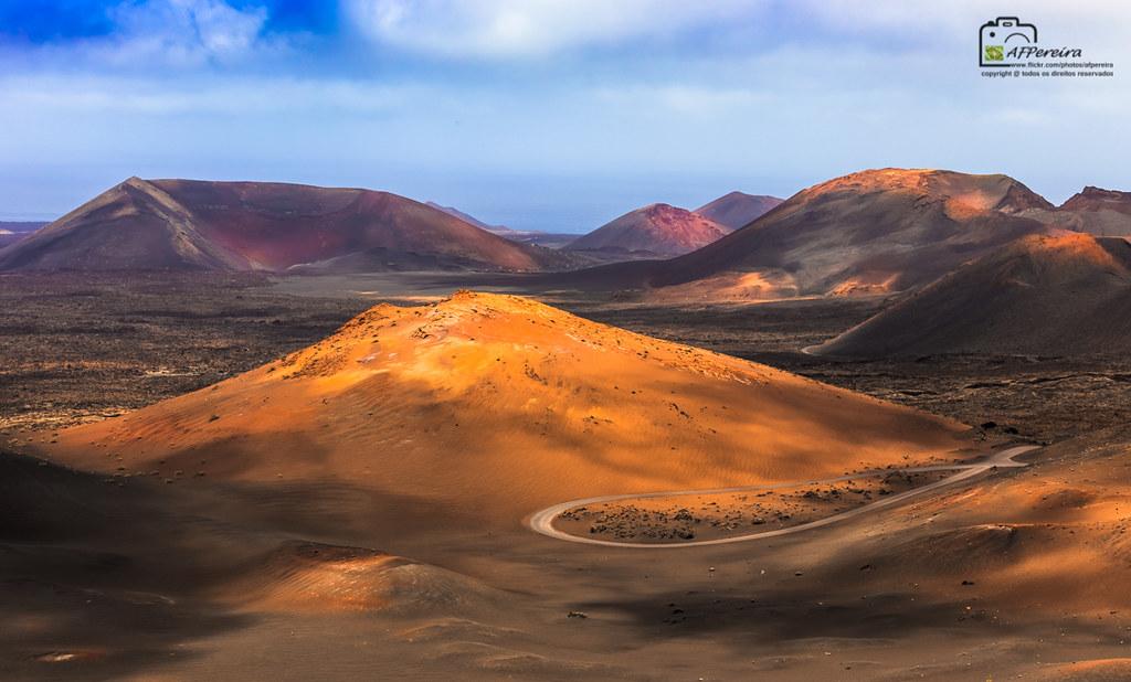 Montañas Del Fuego Timanfaya Lanzarote Canary Islands Flickr