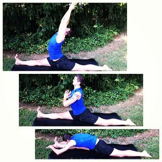 hanumanasana a b  c real men do splits  yoga prac