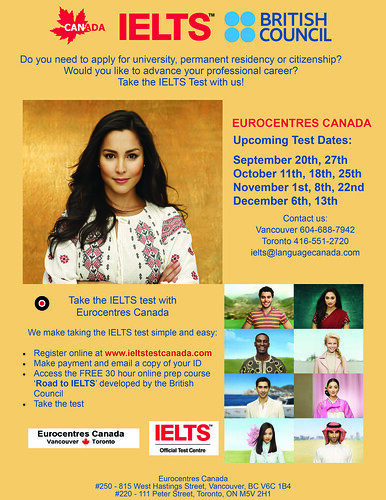 IELTS in Eurocentres Canada (Vancouver)