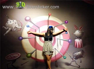 3d exhibition sticker (258) | by 3D floor sticker - YeJun