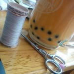 Sunday: more sewing and homemade bubble tea.