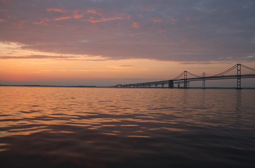 Photo of Chesapeake Bay at sunrise
