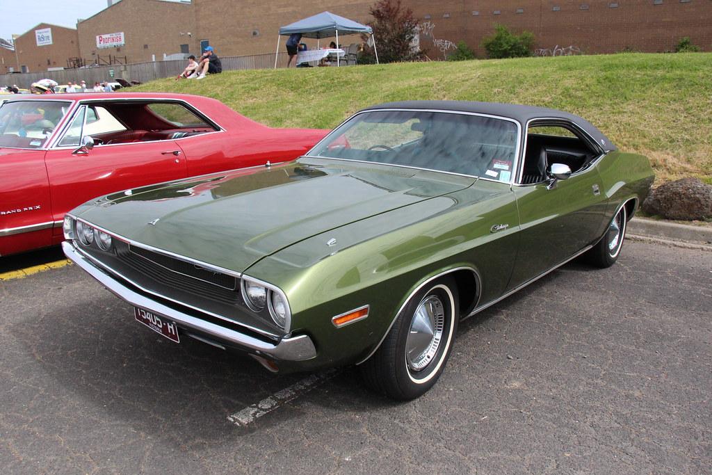 1970 Dodge Challenger Se Dark Green The Challenger Along Flickr