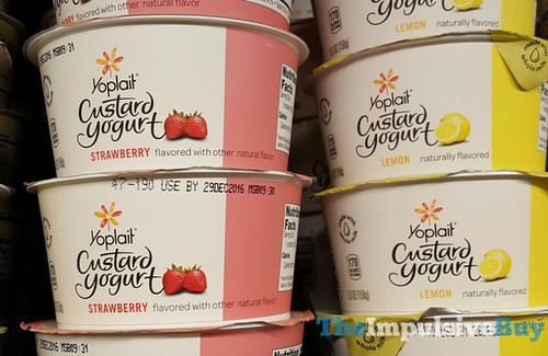 Yoplait Custard Yogurt (Strawberry and Lemon) | by theimpulsivebuy