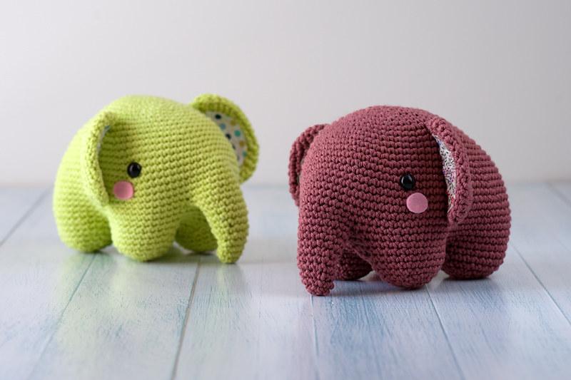 Ravelry: Elephant amigurumi pattern by Celia | 533x800