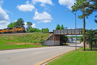UP Railroad over N. Mallard St, Palestine, TX 1406011326 | by Patrick Feller
