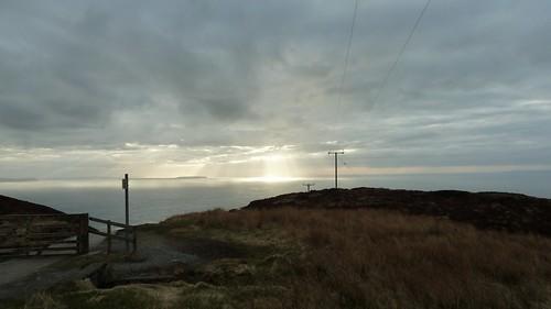 sunset sea cloud seascape clouds scotland nuage nuages ecosse mullofkintyre