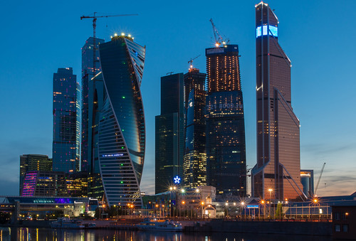 "Moscow International Business Center, ""Moscow City"" 