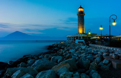 lighthouse greece patras