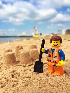 Emmet's summer- the Master (sandcastle) Builder | by AndWhyNot
