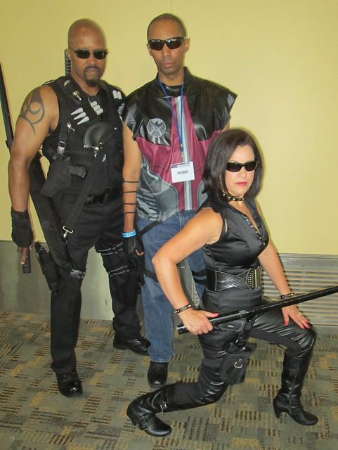 Blade, Hawkeye and Lady Blade