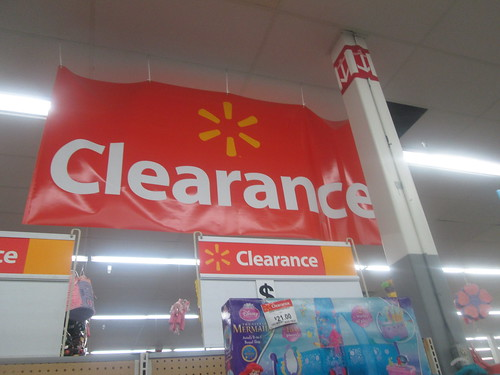 Clearance Banner | by Random Retail
