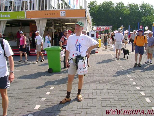 2007-07-16 Startbewijs op halen en vlaggen parade. (6)