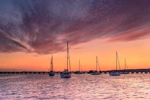 uk sunset cold boats nikon haylingisland windy august hampshire lee nd yachts filters grad southcoast d800 2014 2470mm choppy langstoneharbour worththewait highlightedclouds sunsetsnapper mackerelskyclouds