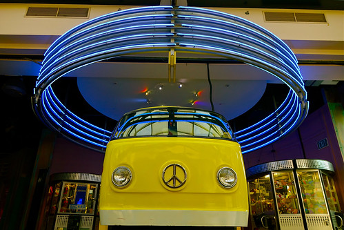 """VW with neon """"halo"""""""