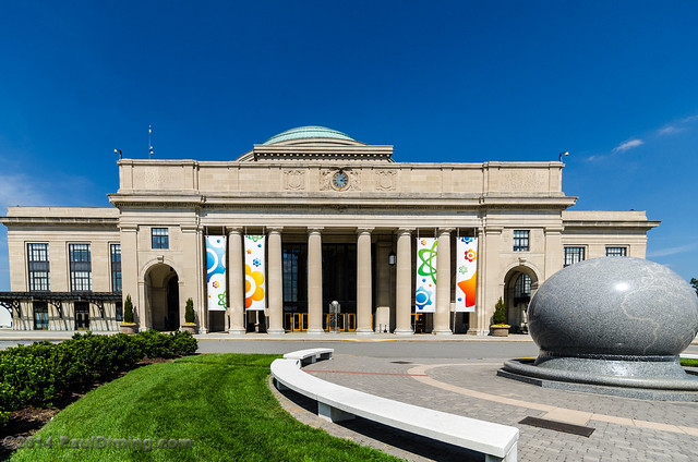 Science Museum of Virginia (former Union Station c 1917) with Grand Kugel  - Richmond, VA