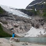 6 viajefilos en Noruega, Suppehellebreen y Boyabreen 05