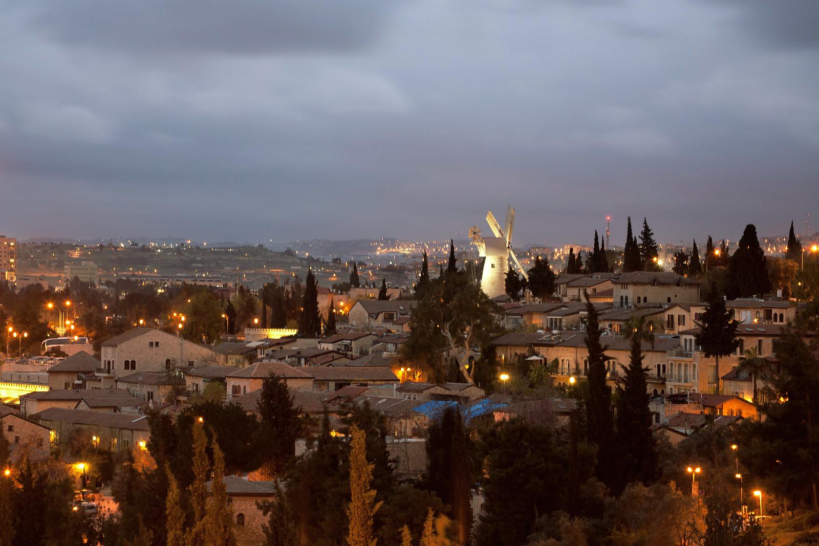 IMG_9934 Windmill_6_the Windmill by night_Jerusalem_Noam Chen_IMOT