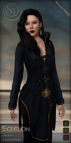 .:SF:. Echelon Jacket   by Senzafine & Astrae