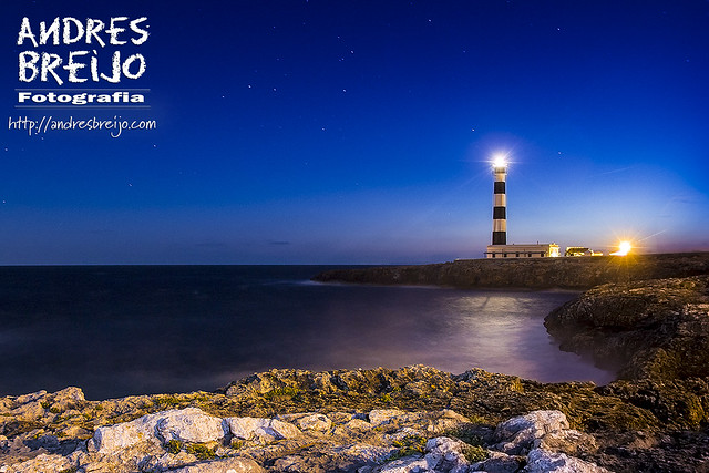 Faro de Artrutx. Menorca - Islas Baleares - España.