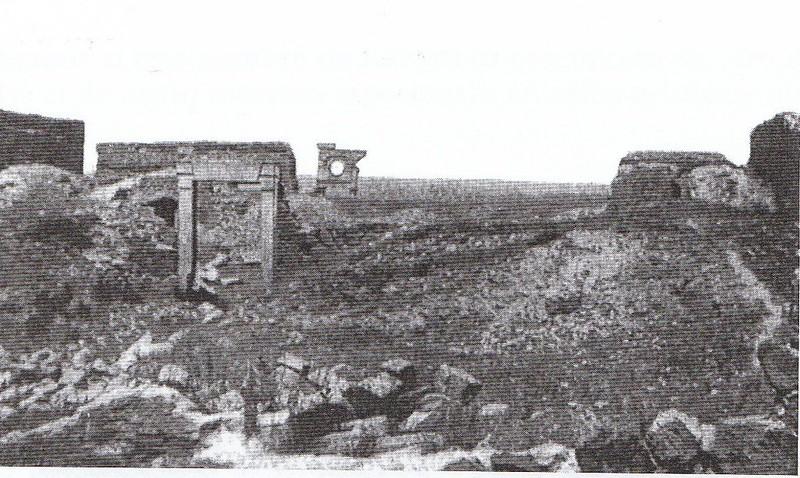 Ruinas del Palacio de Vargas