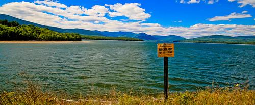 panorama water sign landscape catskills ashokanreservoir tamron1024mmlens