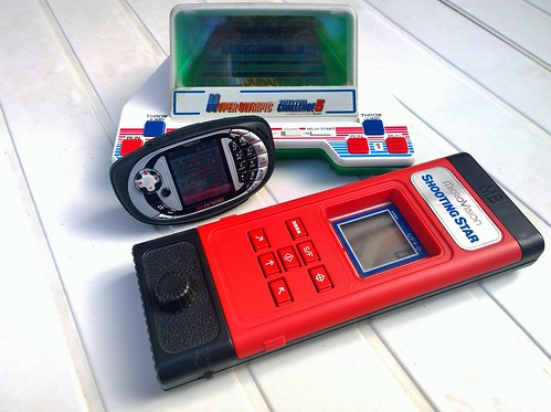 Bandai Hyper Olympic Challenge 5, Nokia N-Gage QD, MB Microvision | by Deep Fried Brains