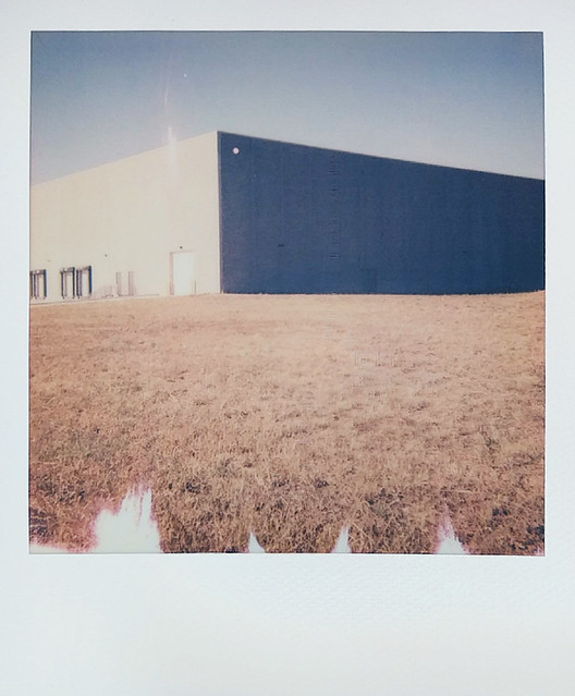 warehouse and field