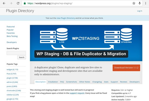wp plugin staging | by yaulaannl