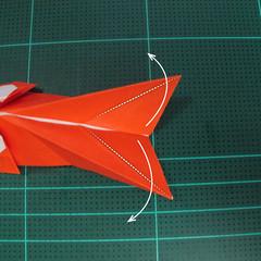 การพับกระดาษเป็นรูปปลาทอง (Origami Goldfish) 022