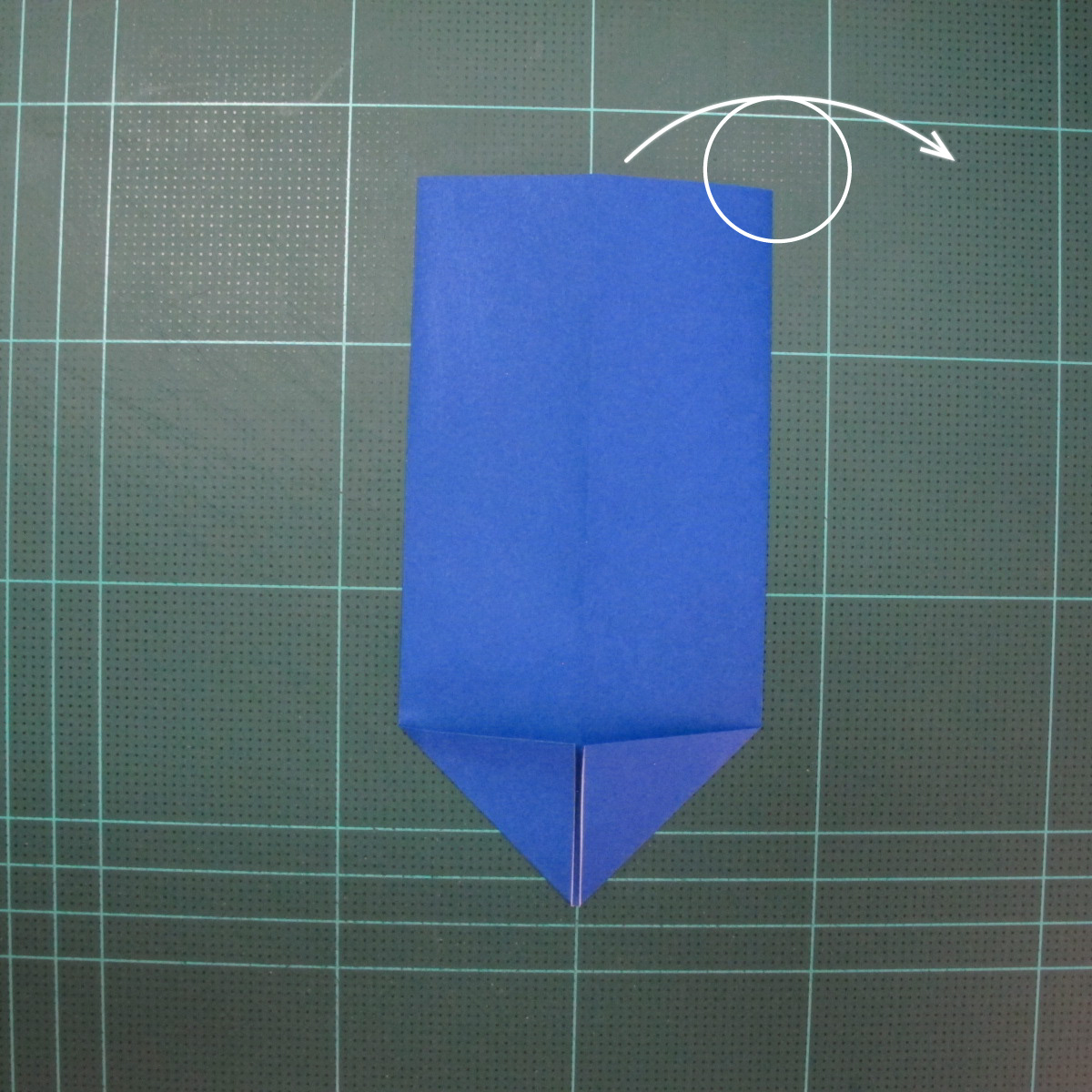 วิธีการพับกระดาษเป็นรูปกระต่าย แบบของเอ็ดวิน คอรี่ (Origami Rabbit)  004