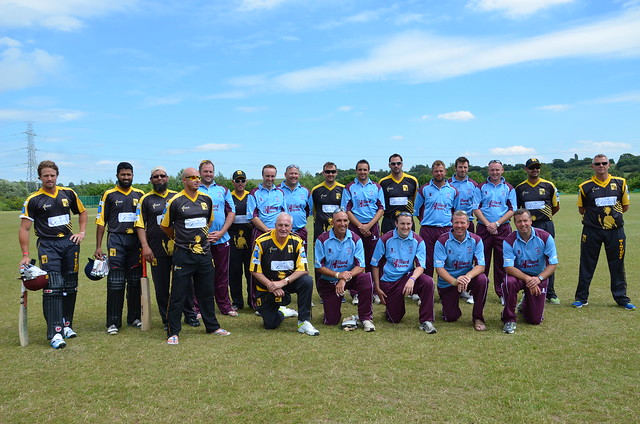 Mangotsfield v Lashings World X1 cricket match