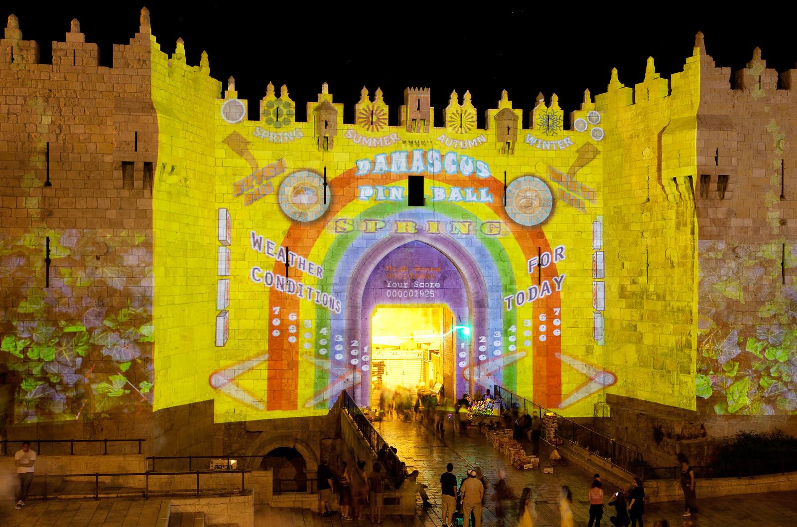 Jerusalem_Festival of Light_Old City_6_Noam Chen_IMOT