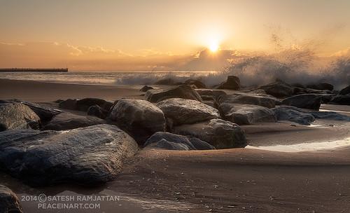ocean sunrise florida satesh boyntonbeachinlet peaceinart