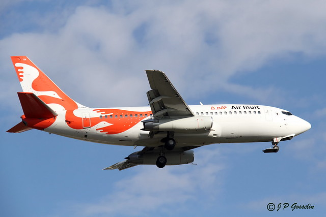 C-GAIG     AIR INUIT    BOEING 737-2S2C   BOEING 737-200     MONTREAL      YUL      CYUL