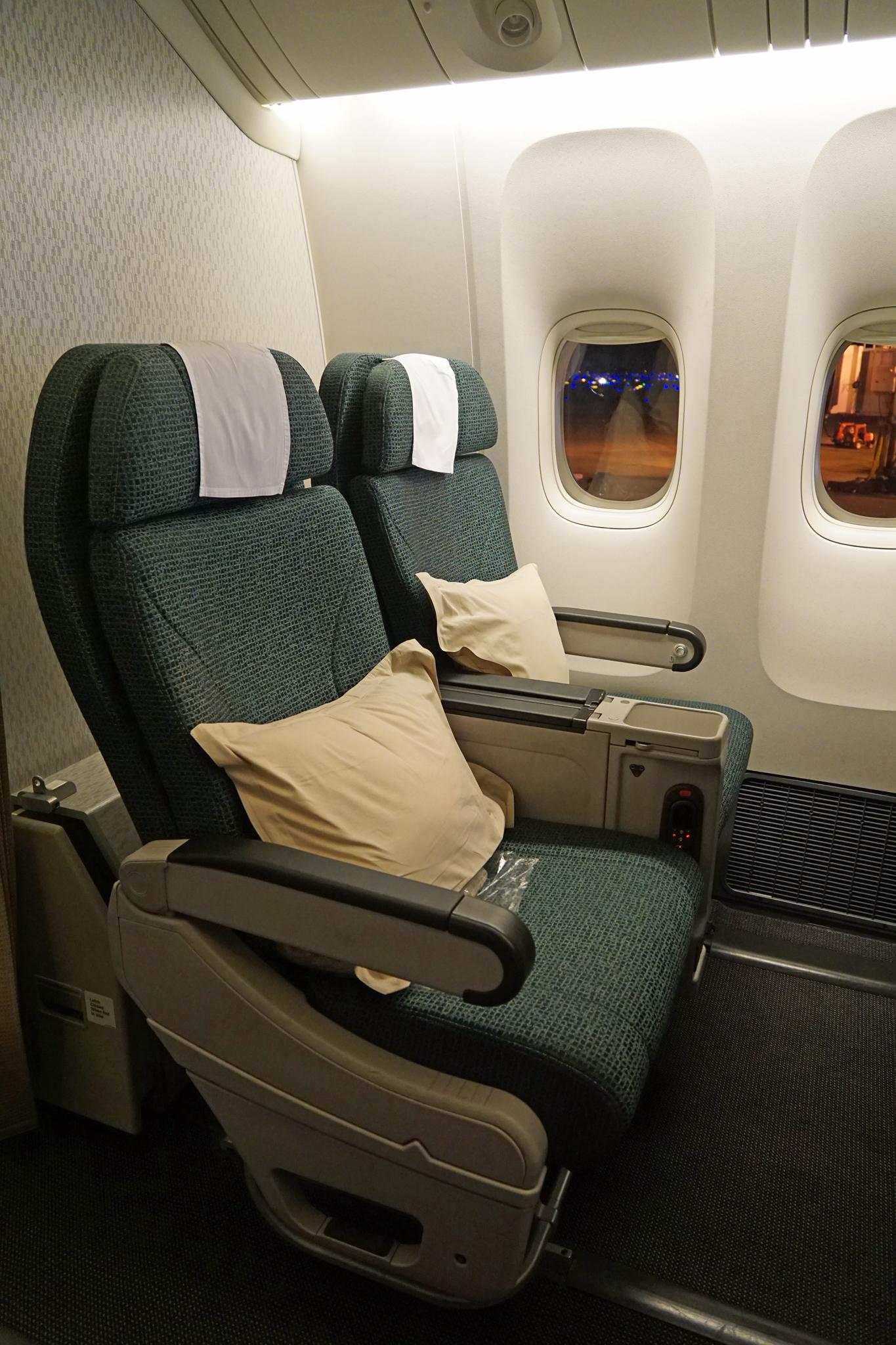 Cathay Pacific Premium Economy Class Seats
