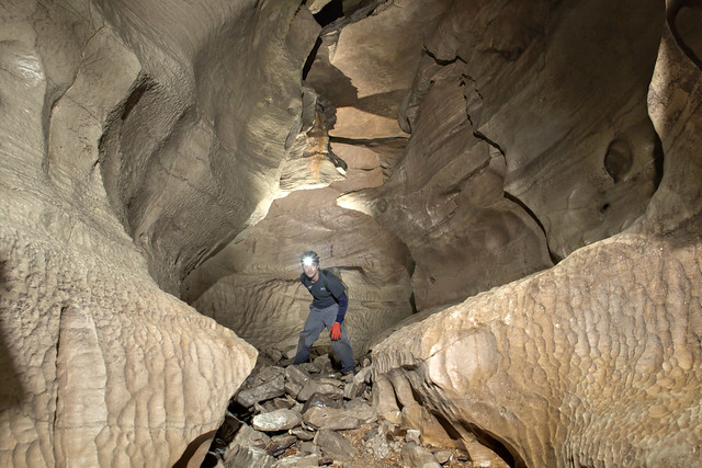 Eric Scott, Sinking Cove Cave, Franklin County, Tennessee 2