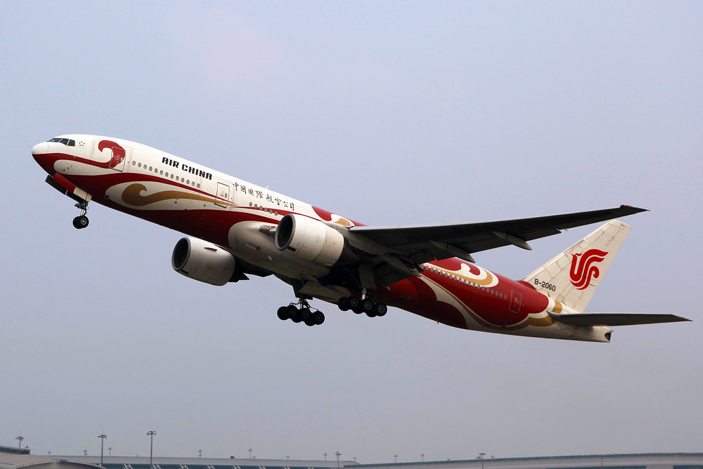 B-2060 | Air China | Boeing 777-2J6 | Red Phoenix Livery | CAN