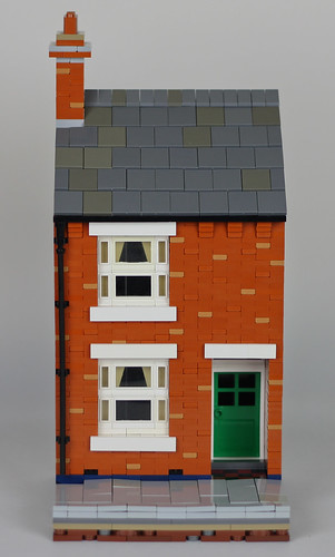 Lego British Victorian Terraced House | by thebearlego