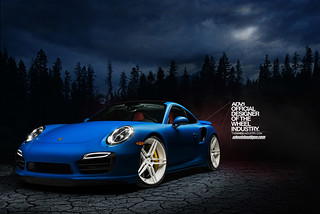 Porsche 991 Turbo S on ADV05 MV2 CS | by wheels_boutique