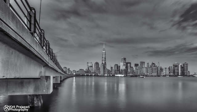The Color City in BW