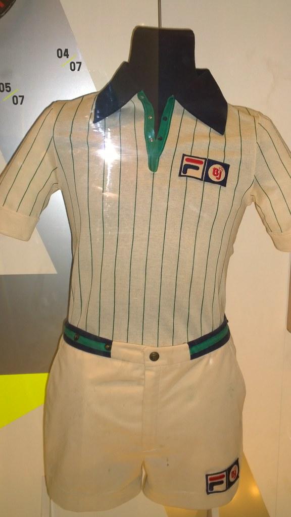 Bjorn Borg Fila outfit